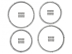 Pojistný kroužek kola, pro dva disky, stříbrný 2 ks