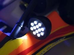 LED Indikátor biely
