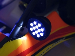 LED Indikátor modrý