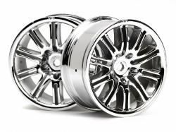 Wheels 26MM CHROME - beam (pair)