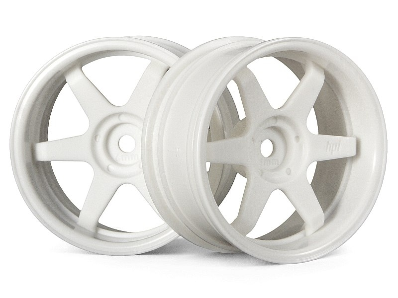 Náhľad produktu - TE37 disky 26mm bílé (6mm offset)