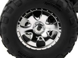 Nalepené GT2 gumy S směs ON WARLOCKdisky/chromové