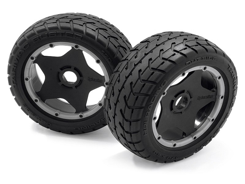 Náhľad produktu - Nalepené pneu TARMAC BUSTER RIB, M zmes (predná)