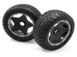 Glued tires TARMAC BUSTER RIB, M mixture (front)