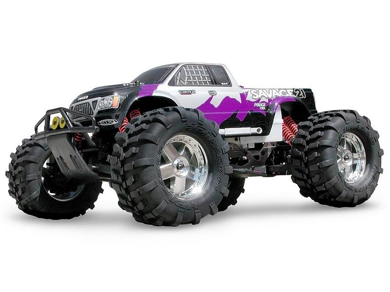 Náhľad produktu - Karoserie čirá GT-1 Truck Nitro (SAVAGE 21, T MAXX)