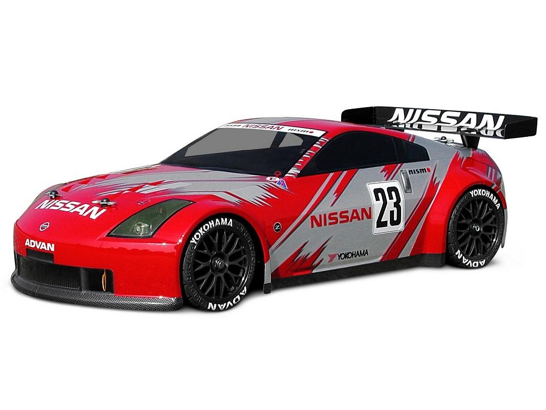 Náhľad produktu - Karoséria číra Nissan 350Z Nismo GT (190 mm)