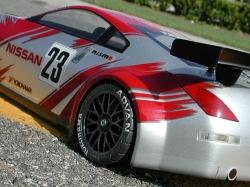 Karoséria číra Nissan 350Z Nismo GT (190 mm)