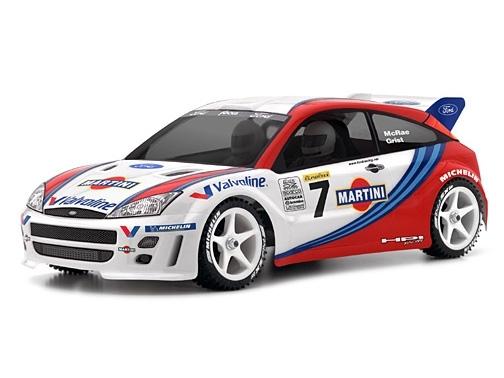 Náhľad produktu - Karoséria číra Ford Focus WRC (200 mm)