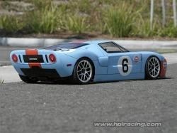 Karoséria číra Ford GT (200mm/rázvor 255 mm)