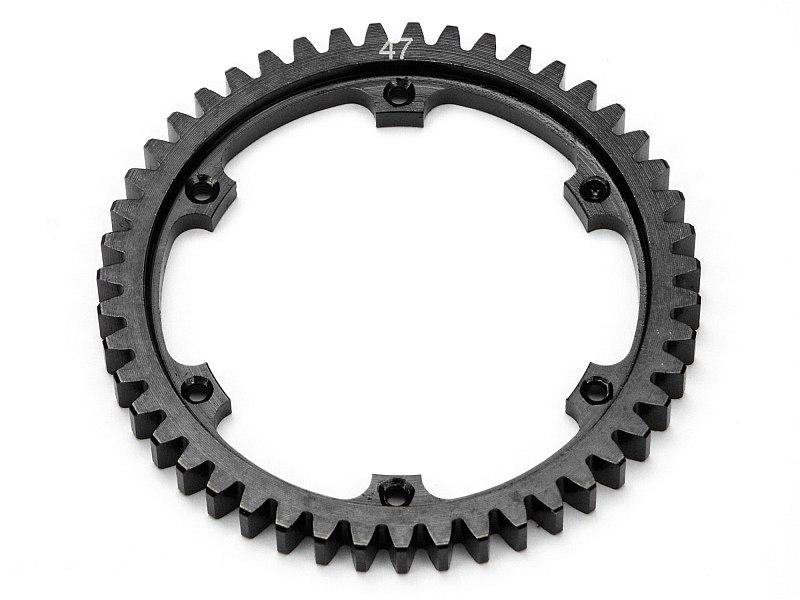 Náhľad produktu - Oceľové koleso stáleho prevodu 47 zubov SAVAGE