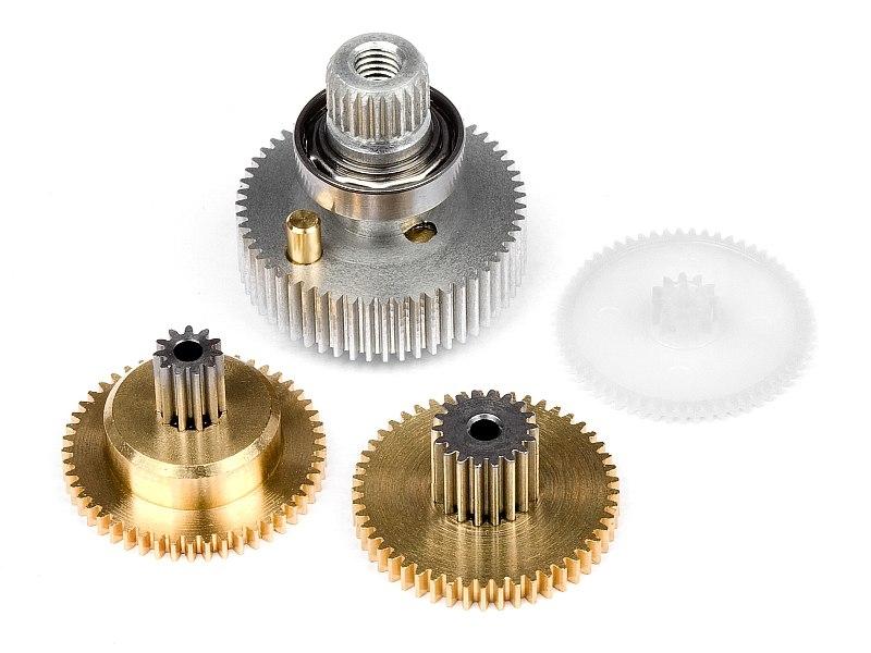 Náhľad produktu - SERVO prevody sada (kovové/SF-5)