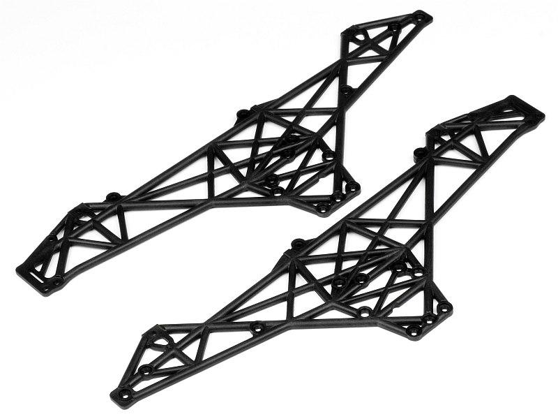 Náhľad produktu - Sada dielov podvozka (čierna)