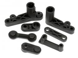 Plastic parts servo saver, set BAJA 5B