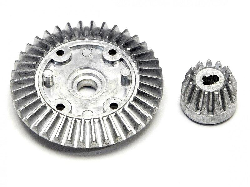 Náhľad produktu - Súkolie stáleho prevodu dif. (38T+13 zubov) (NITRO 3, SUPER RALLY, MT)