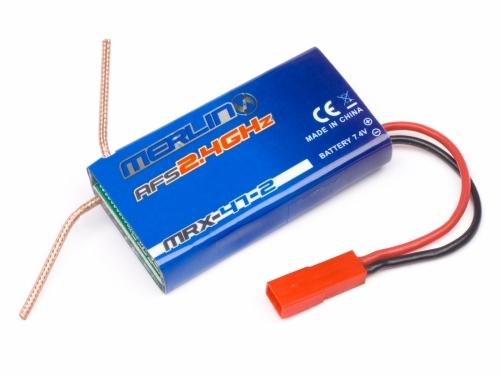 Náhľad produktu - MRX-47-2 přijímač/regulátor/gyro jednotka (Tracer 180)