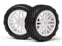 Přední gumy nalepené (2ks) (Strada EVO XB)
