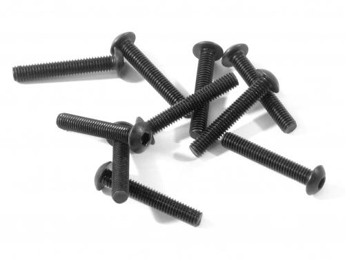 Náhľad produktu - Šroub s plochou hlavou M3x18mm (10ks.) Imbus