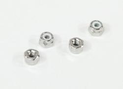 Samojistící matice M2.6 (stříbrná/4ks)