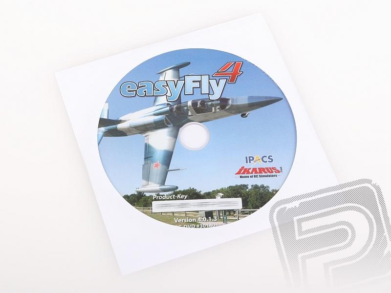 Simulátor EasyFly 4 DVD pro všechny ovladače (pouze CD/DVD)