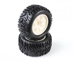 VTEC 1/10 nalepené gumy (2ks) - S10 MT