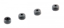 The bottom cap oil shock, 4 pcs. - S10 Twister - 1/10 2WD Buggy