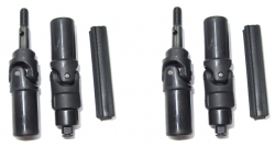 Teleskopické kardany, 2ks. - S10 Twister - 1/10 2WD Buggy