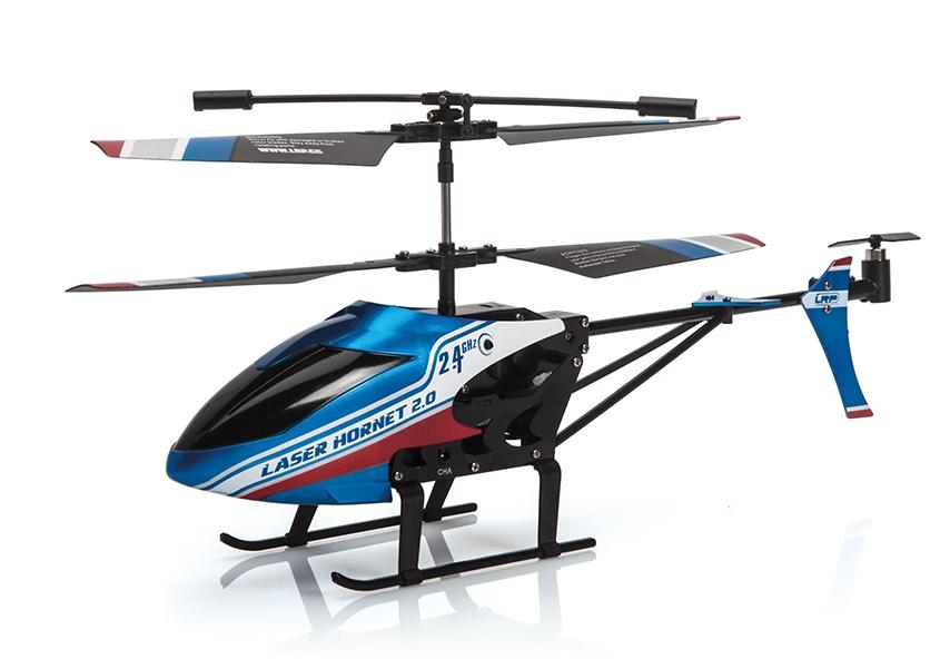 LaserHornet 2.0 - 190mm 2.4GHz Koaxial vrtulník RTF (MODE 2)