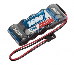 XTEC RX-pack Straight 2/3A NiMH - JR - 6.0V - 1600mAh