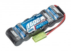 XTEC Race pack Side-by-Side 2/3A NiMH 7,2V 1600mAh, Mini-Tamiya