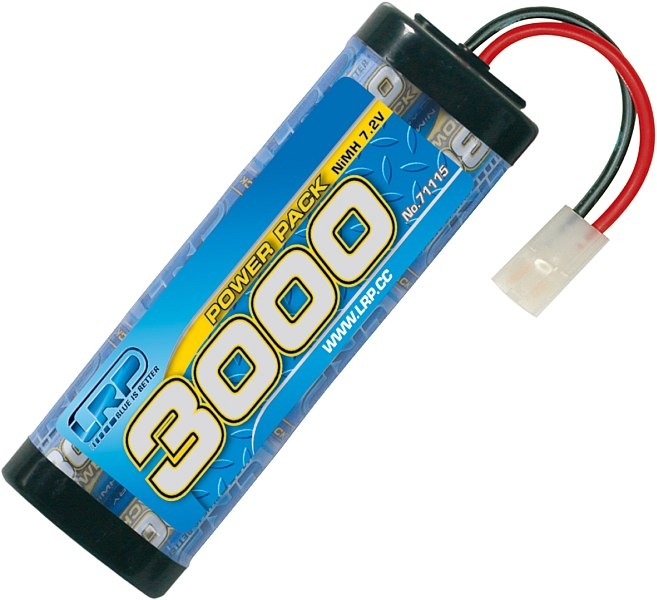 Náhľad produktu - Power Pack 3000 mAh 7,2 V NiMH Stickpack