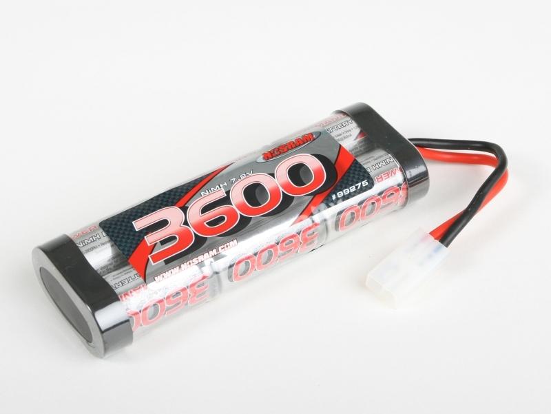 Náhľad produktu - Nosram Power pack 3600 mAh 7,2 V NiMH StickPack