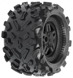 Big Joe 3.8″ (40 Series) gumy, nalepené na Tech 5 černých diskách