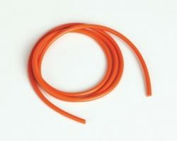 Náhled produktu - Silikonový kabel 2,6qmm, 13AWG, 1metr, oranžový