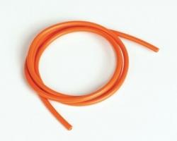 Produkt anzeigen - Silikonový kabel 4,1qmm, 11AWG, 1metr, oranžový