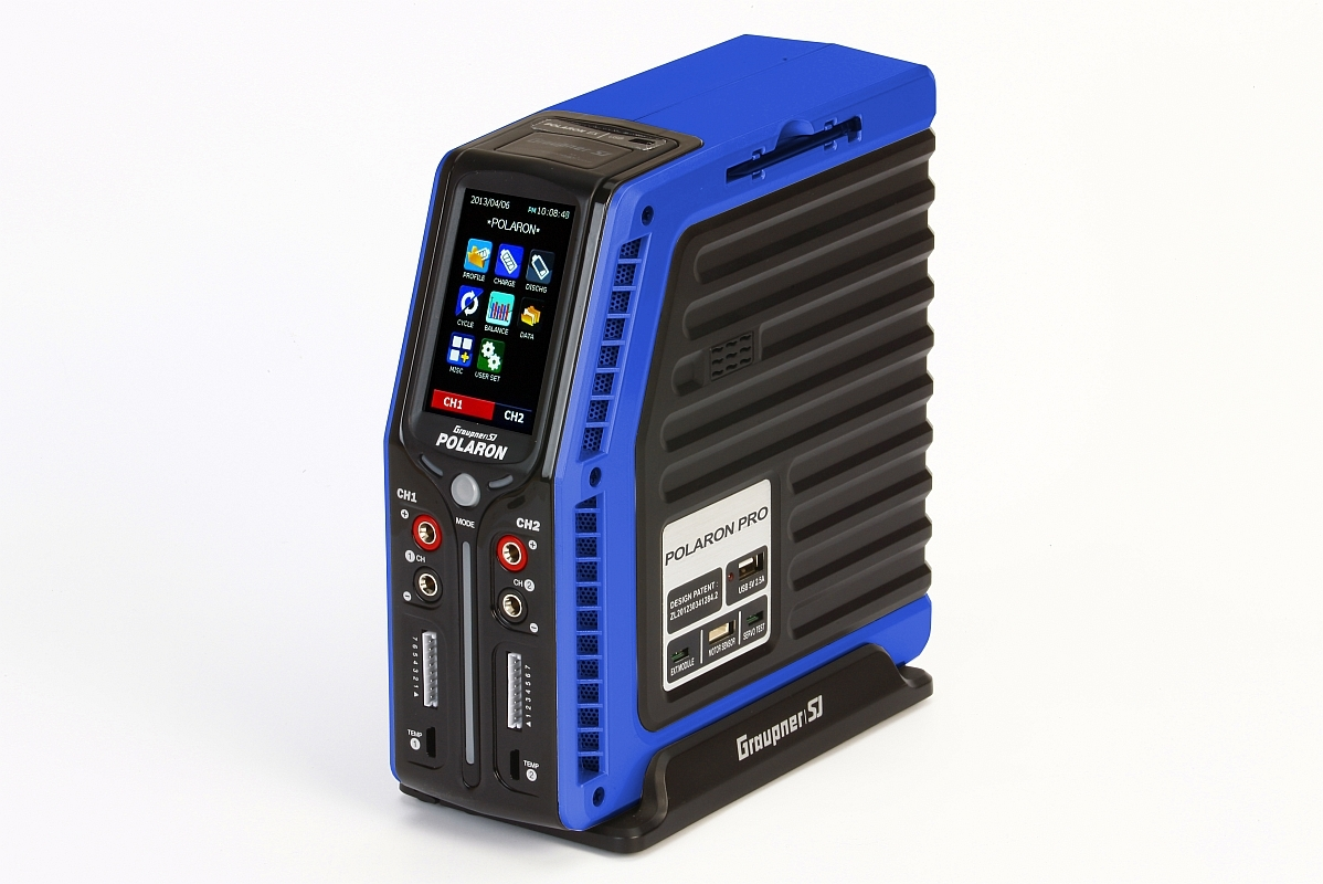 POLARON PRO nabiječ (modrá verze) - 500W