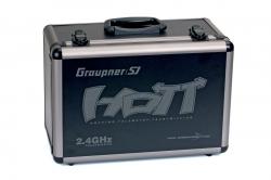 Alu-vysielačový kufor HoTT pre MZ-18 a 24