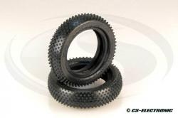 Produkt anzeigen - Schumacher 1/10 MINI PIN - eine Mischung aus gelb / gelb - vorne (2WD)