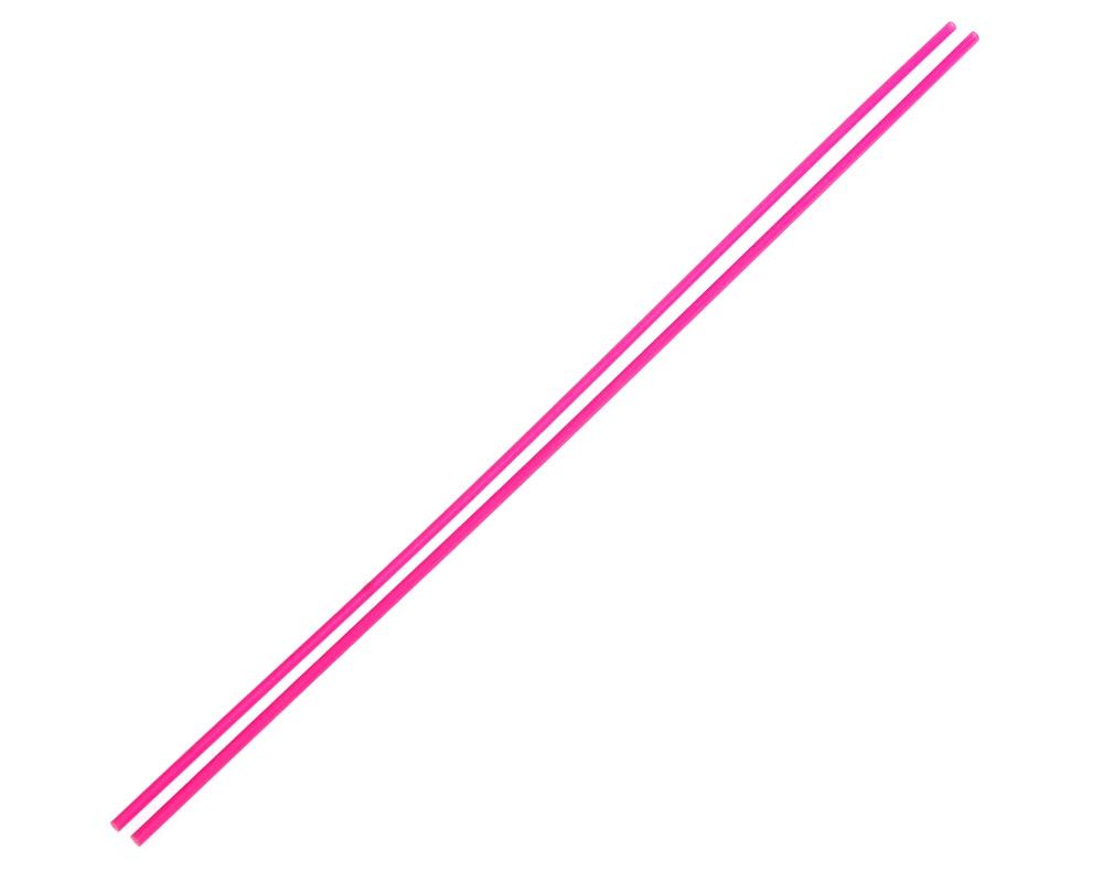 Anténové trubičky RC AUTA 2 ks. - růžové