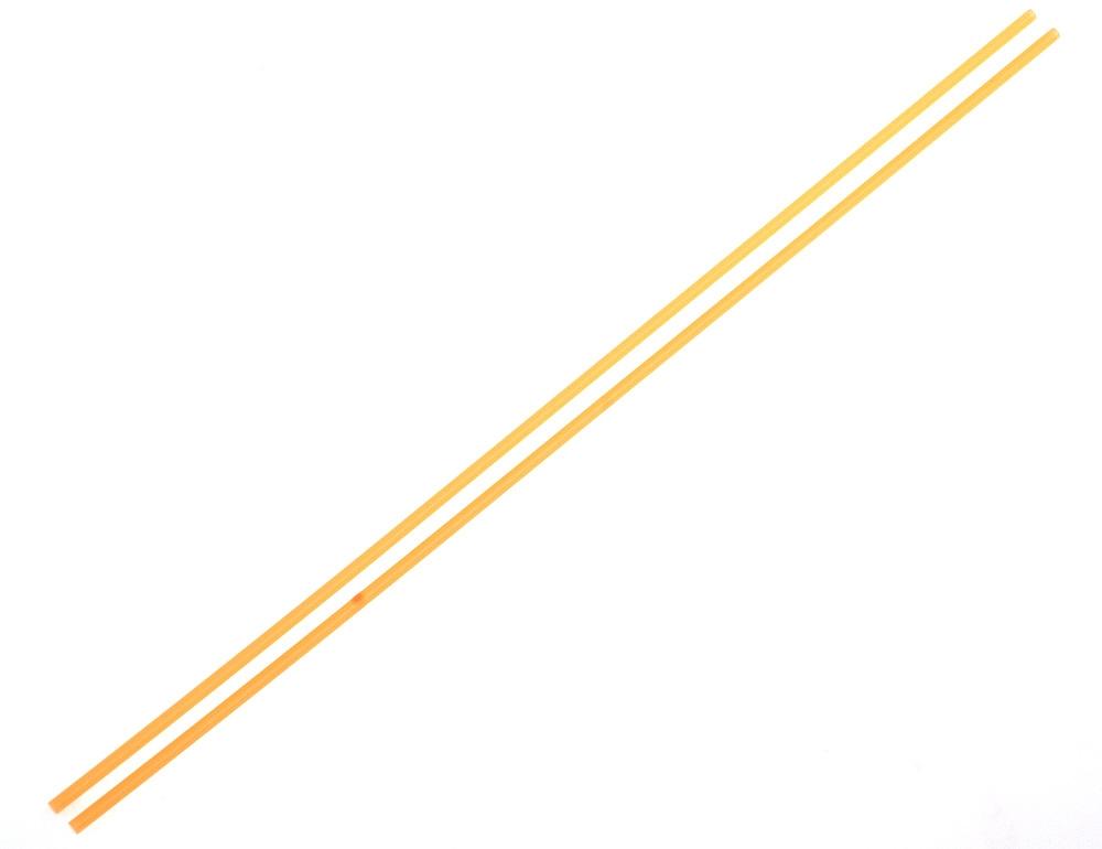 Anténové trubičky RC AUTA 2 ks. - oranžové