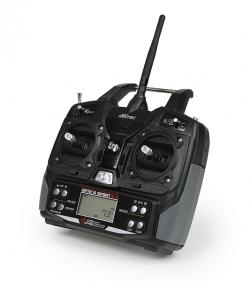 OPTIC 6 SPORT 2,4 GHz (mode 2), přijímač MINIMA 6S