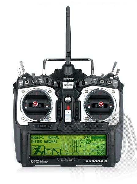 AURORA 9 9-kanálová 2.4GHz, Optima7, TX aku (mode 2)