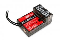 Flash 8 2.4GHz, přijímač Maxima 9, Tx aku (Mód 1/3)