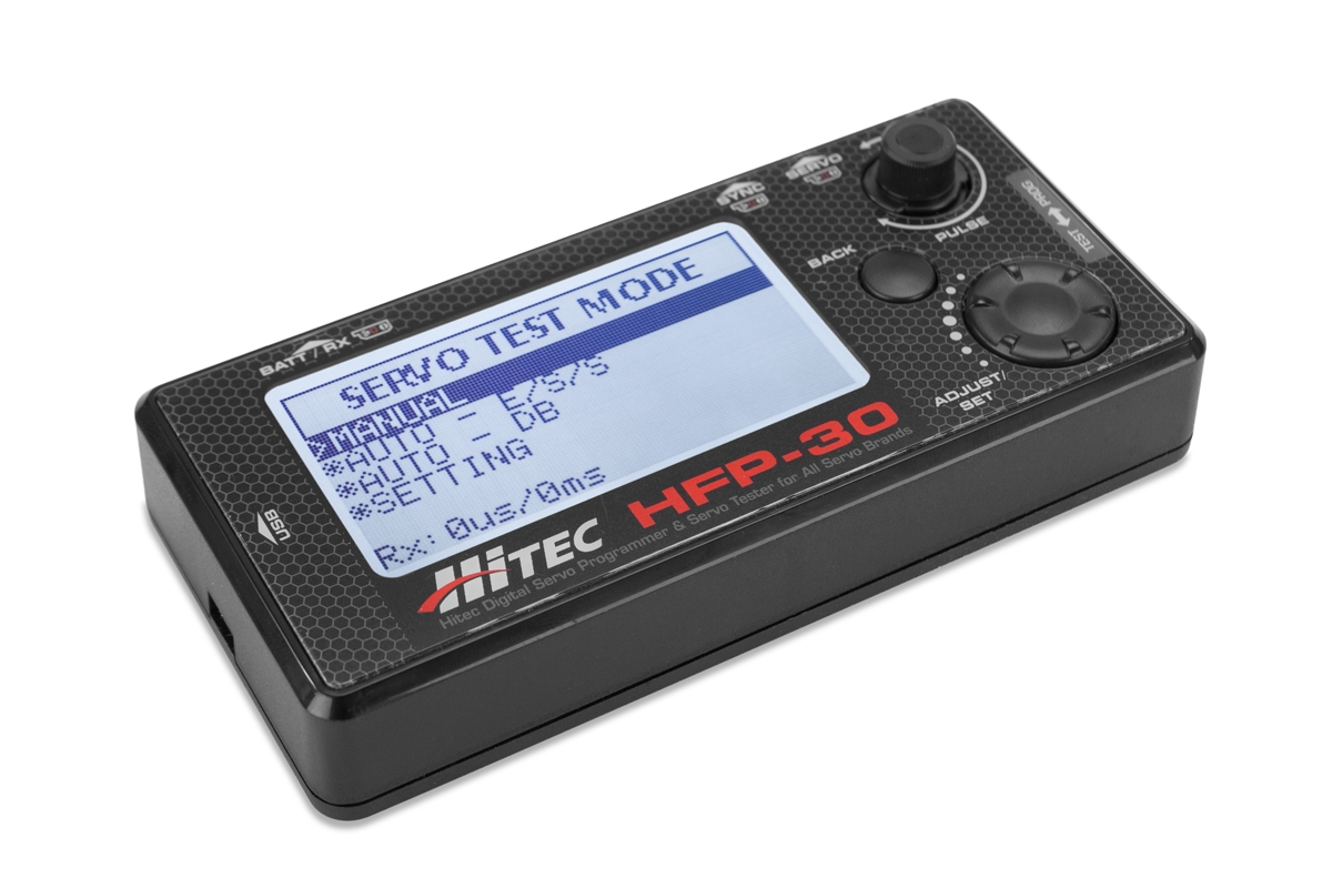 HFP-30 programátor digi serv Hitec