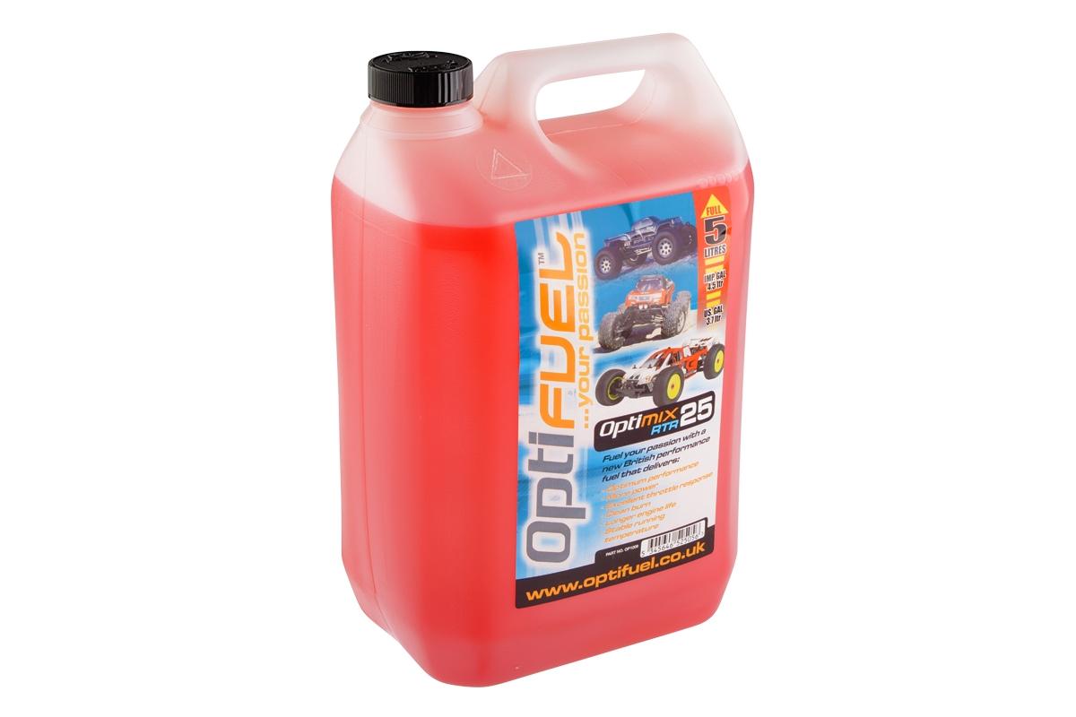 Náhled produktu - Optimix RTR 25% 5l palivo pro CAR (v ceně SPD 12,84 kč/L)