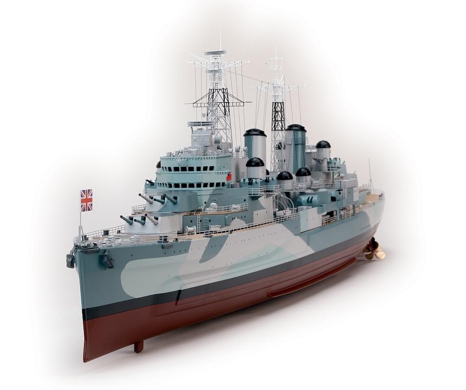 1:150 H M S BELFAST Battleship