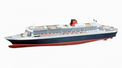 1:200 Luxusní osobní dopravní loď QUEEN MARY 2