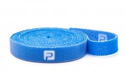 Suchý zips obojstranný 10×500 mm (modrý)