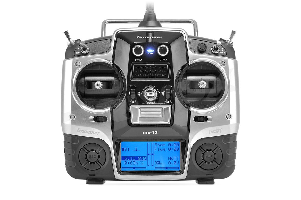 Náhľad produktu - MX-12 2,4GHz HOTT RC súprava (anglický software)
