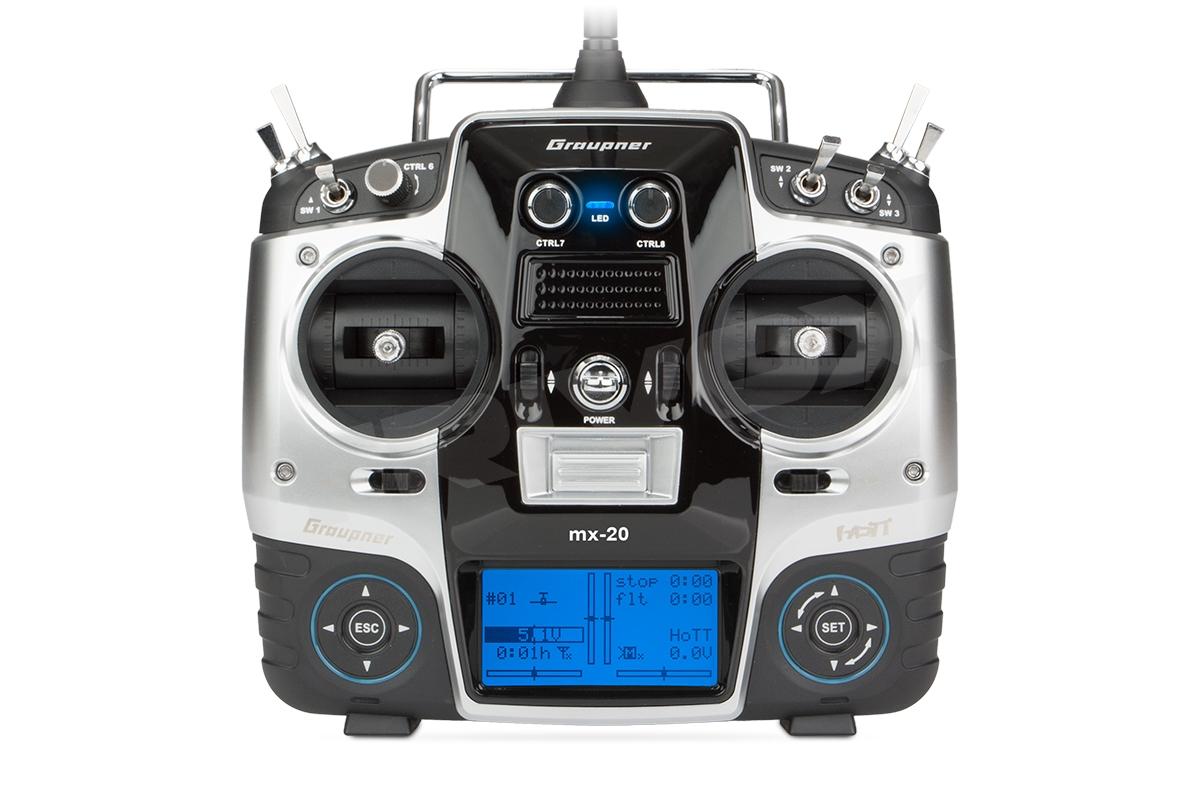 Náhľad produktu - MX-20 2,4GHz HoTT RC samotný vysielač