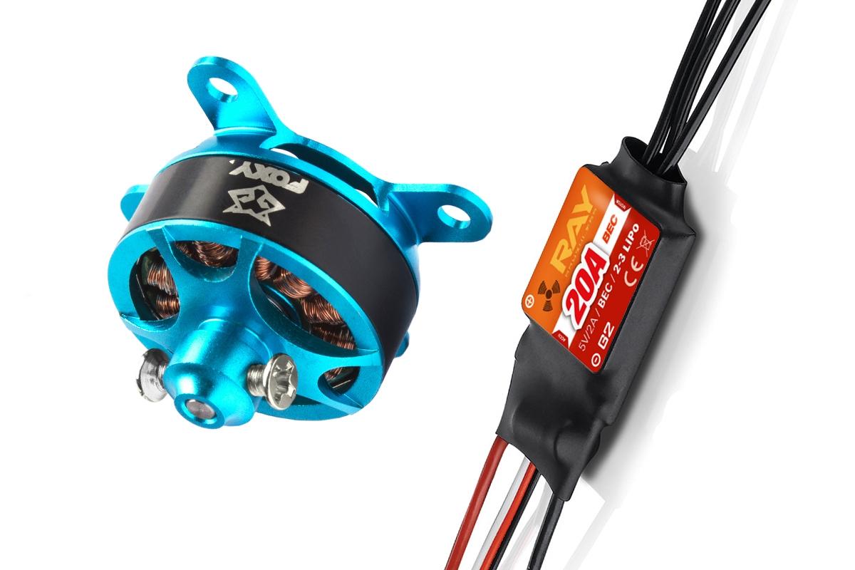 Combo set FOXY G3 C2206-1500 + RAY G2 20A regulátor